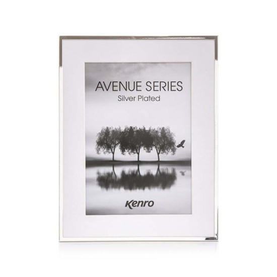 Avenue Series Silver Plated 8