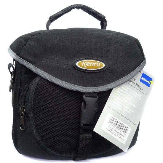 Kenro Black Camera Bag CAM118